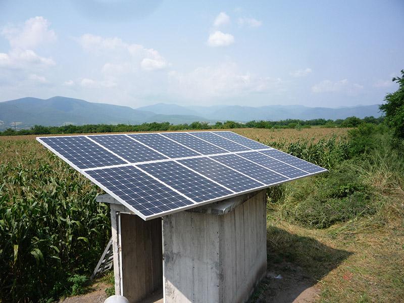 Sistema de bombeo fotovoltaico Guerrero