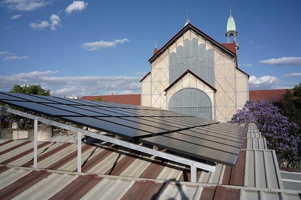 Sistema fotovoltaico Museo del Chopo